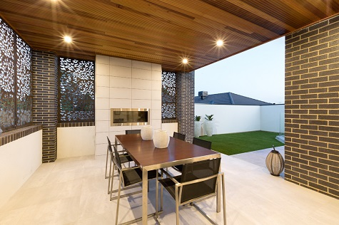 Timber Ceilings To Alfresco